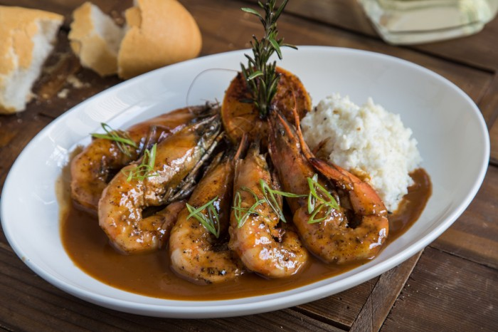 Photo of BBQ Shrimp at Tableau via  The Hungry Nomad