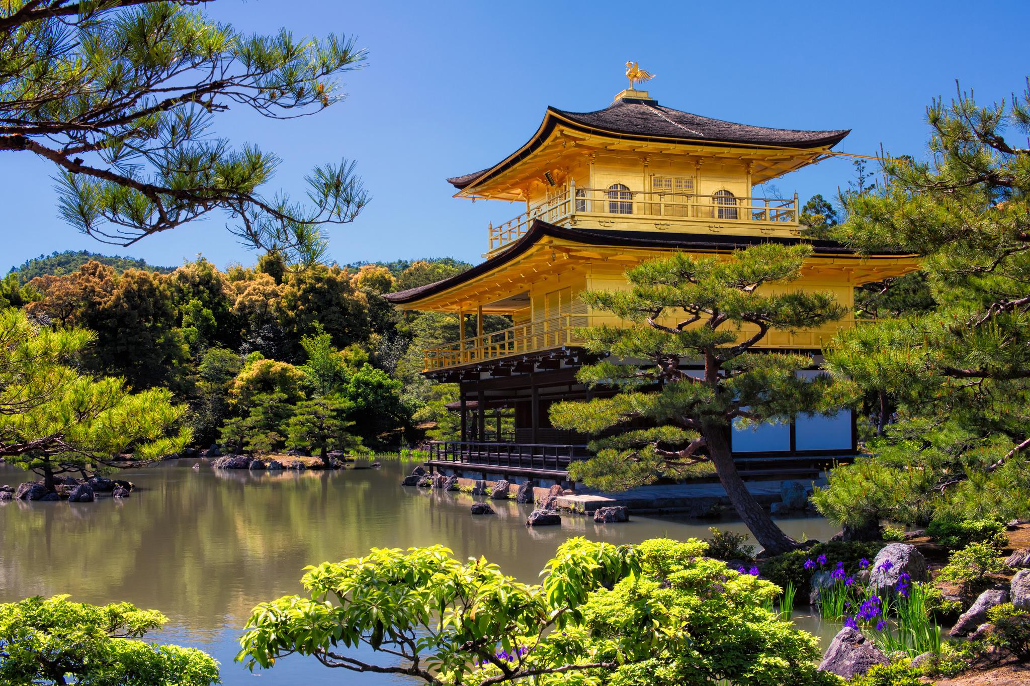 Kinkakuji (Golden Pavilion), Kyoto, Japan  photo  by  Ray in Manila  via flickr.