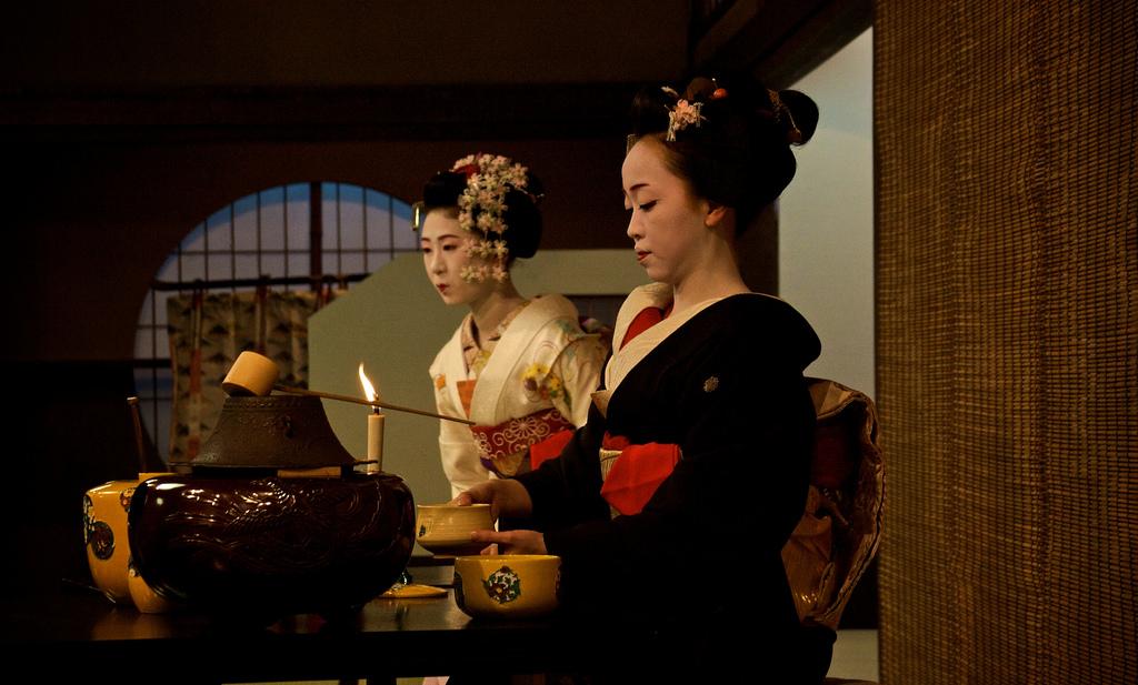 Tea ceremony  photo  by  Phil Balchin  via flickr.