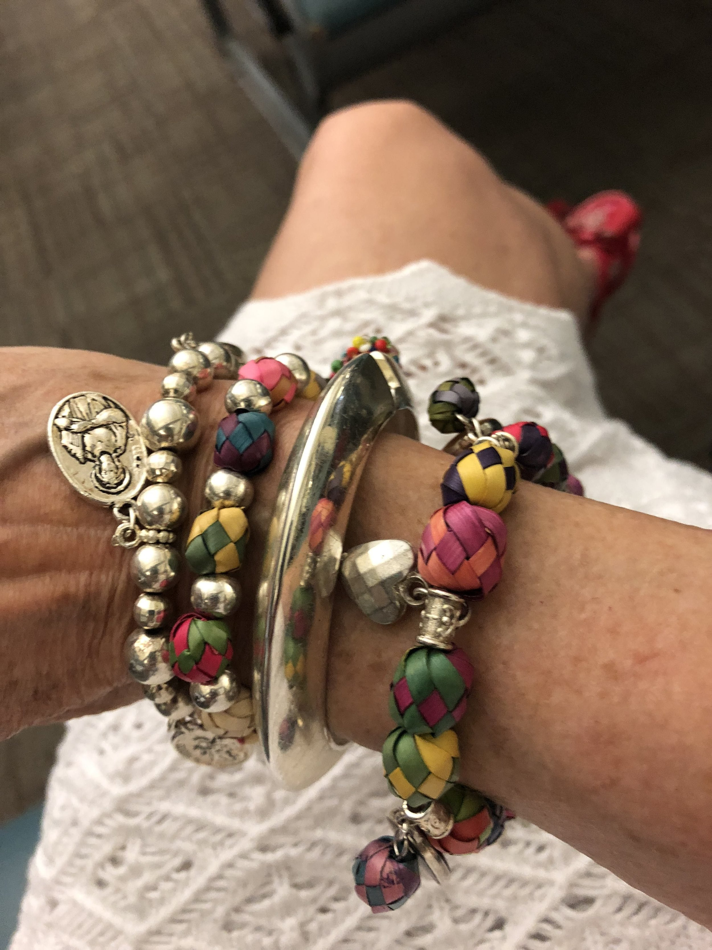 Inexpensive, but charming and unique jewelry is one of Astrids' favorite travel souvenirs