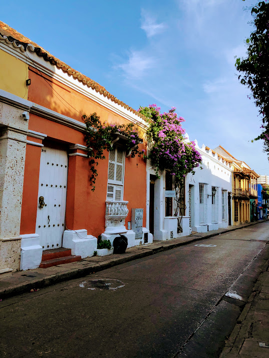 I'd love for my next trip to be someplace warm and tropical.  Cartagena  perhaps? Maybe even  Belize .
