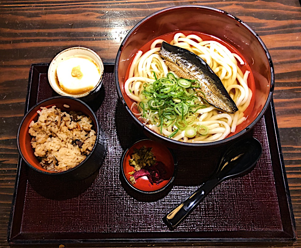 Japanese Lunch: Udon Soup