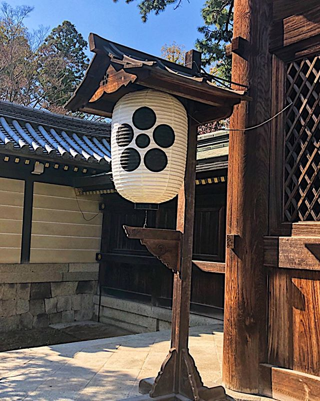 Travel Trivia Question: What symbol is depicted in this Japanese Temple paper lantern?