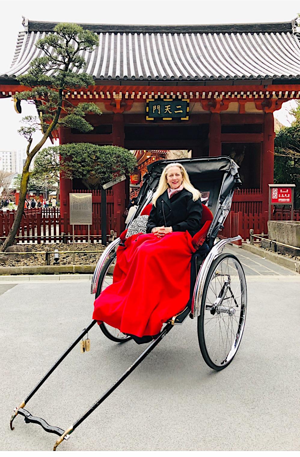 Rickshaw Ride in Tokyo