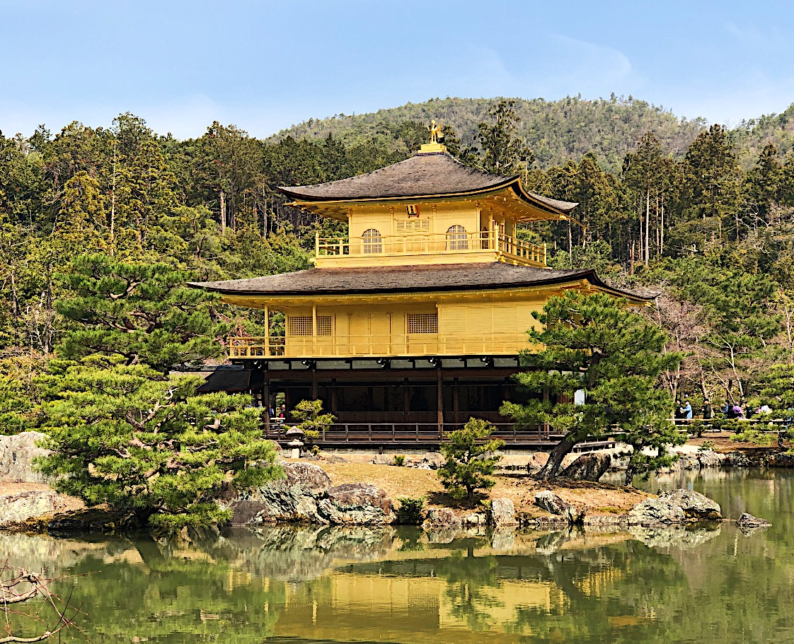 Golden Temple in Japan
