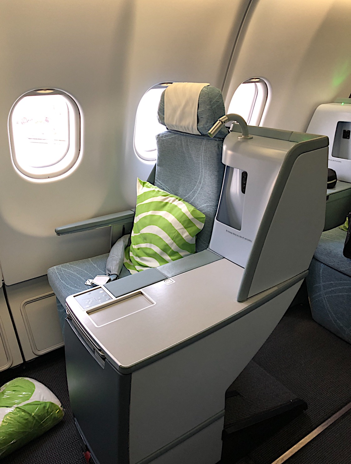 Finnair Business Class Lie Flat Seat
