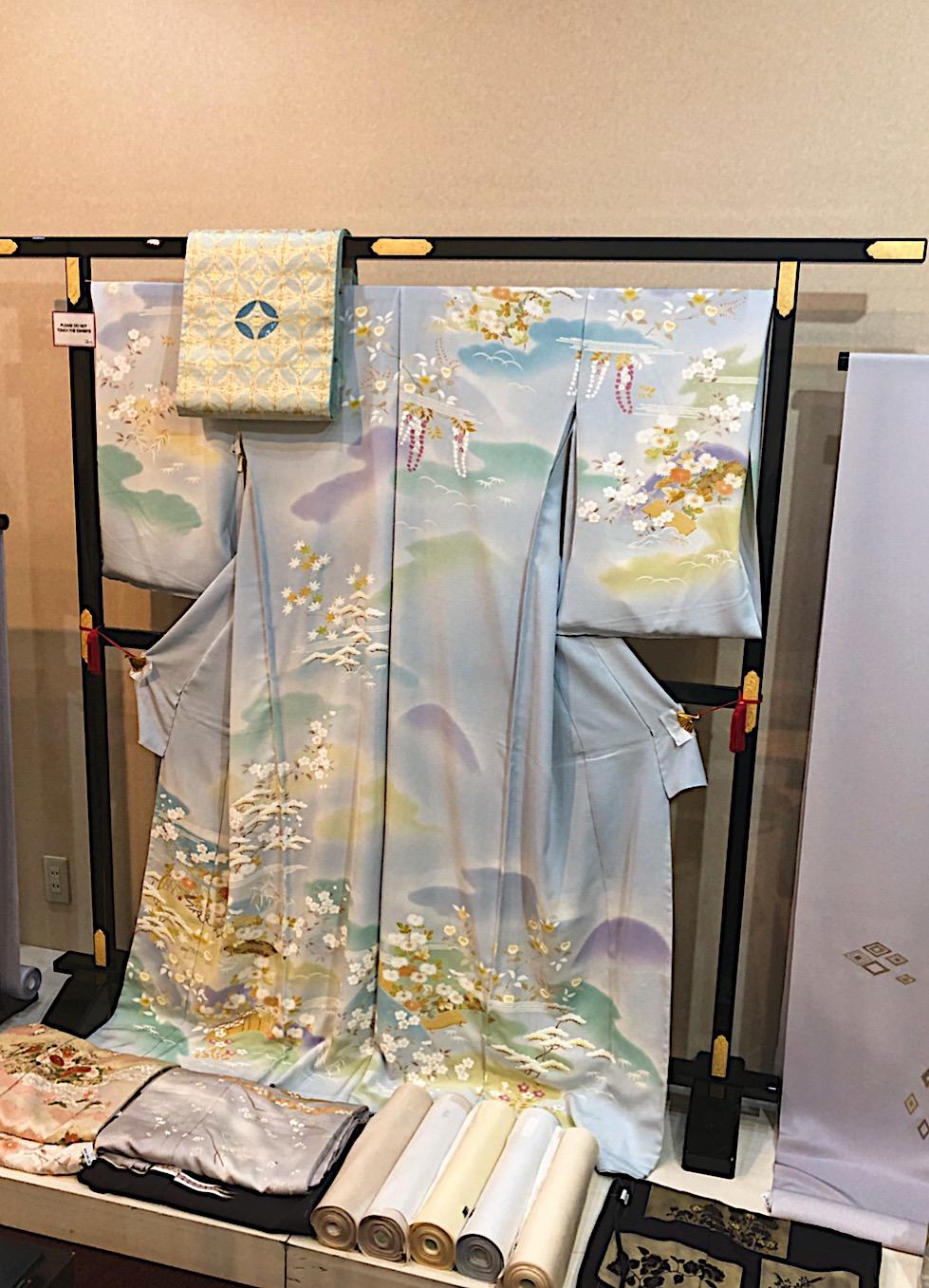 Kimono and Textile Store in the Hotel New Otani in Tokyo