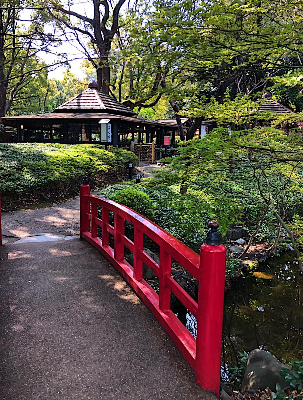 Teppanyaki Restaurant in the Japanese Garden at the Hotel New Otani in Tokyo