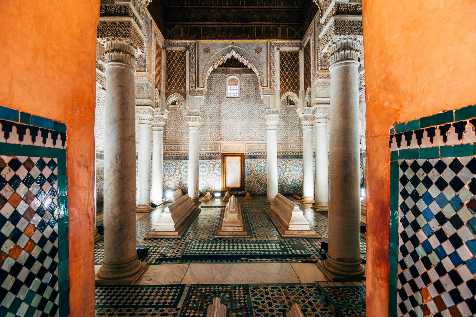 Saadian Tombs;  Source