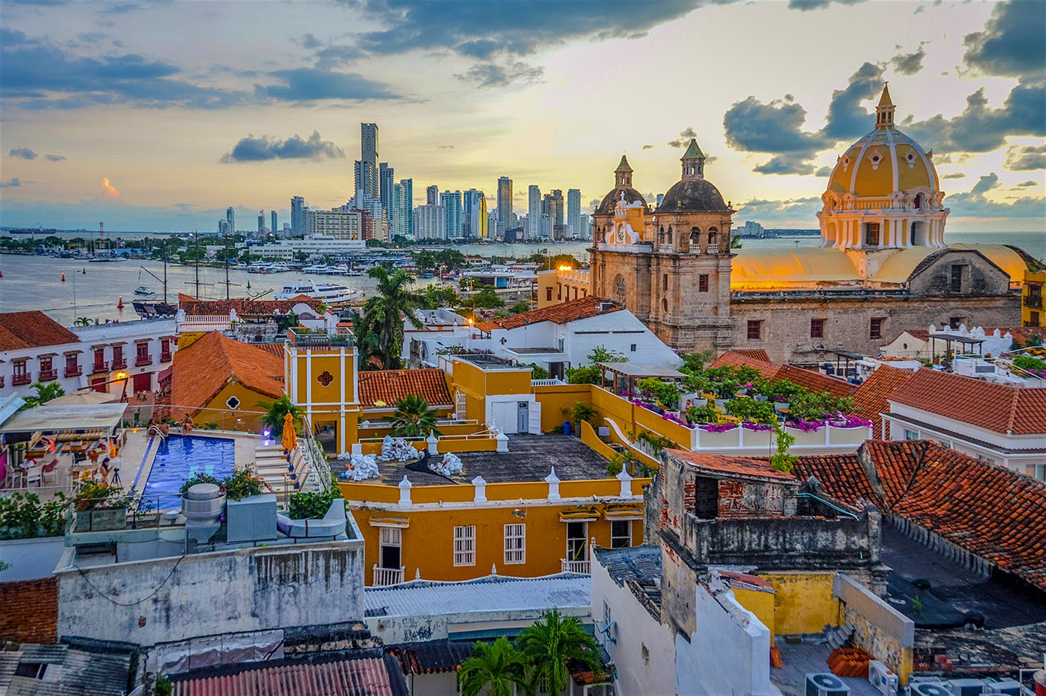 Cartagena de Indias; Photo via  Lonely Planet
