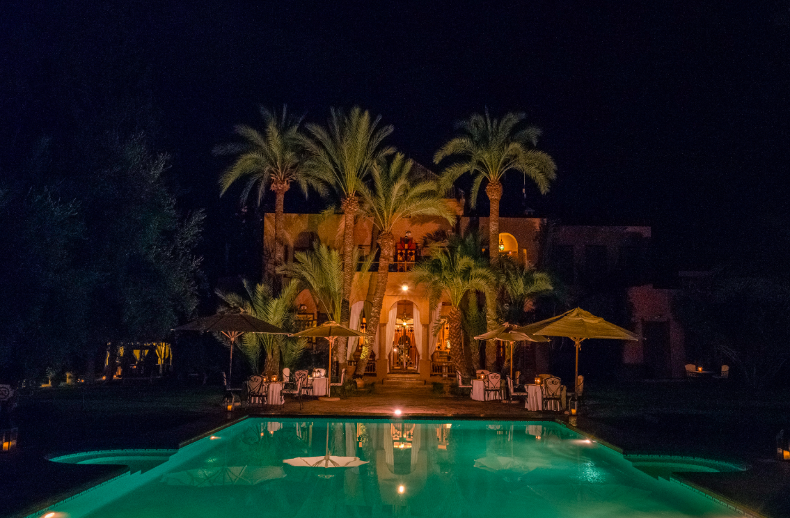 The luxury riad villa, the Dar Ayniwen, that we will be staying in on our AstridTravel Club trip to Marrakesh