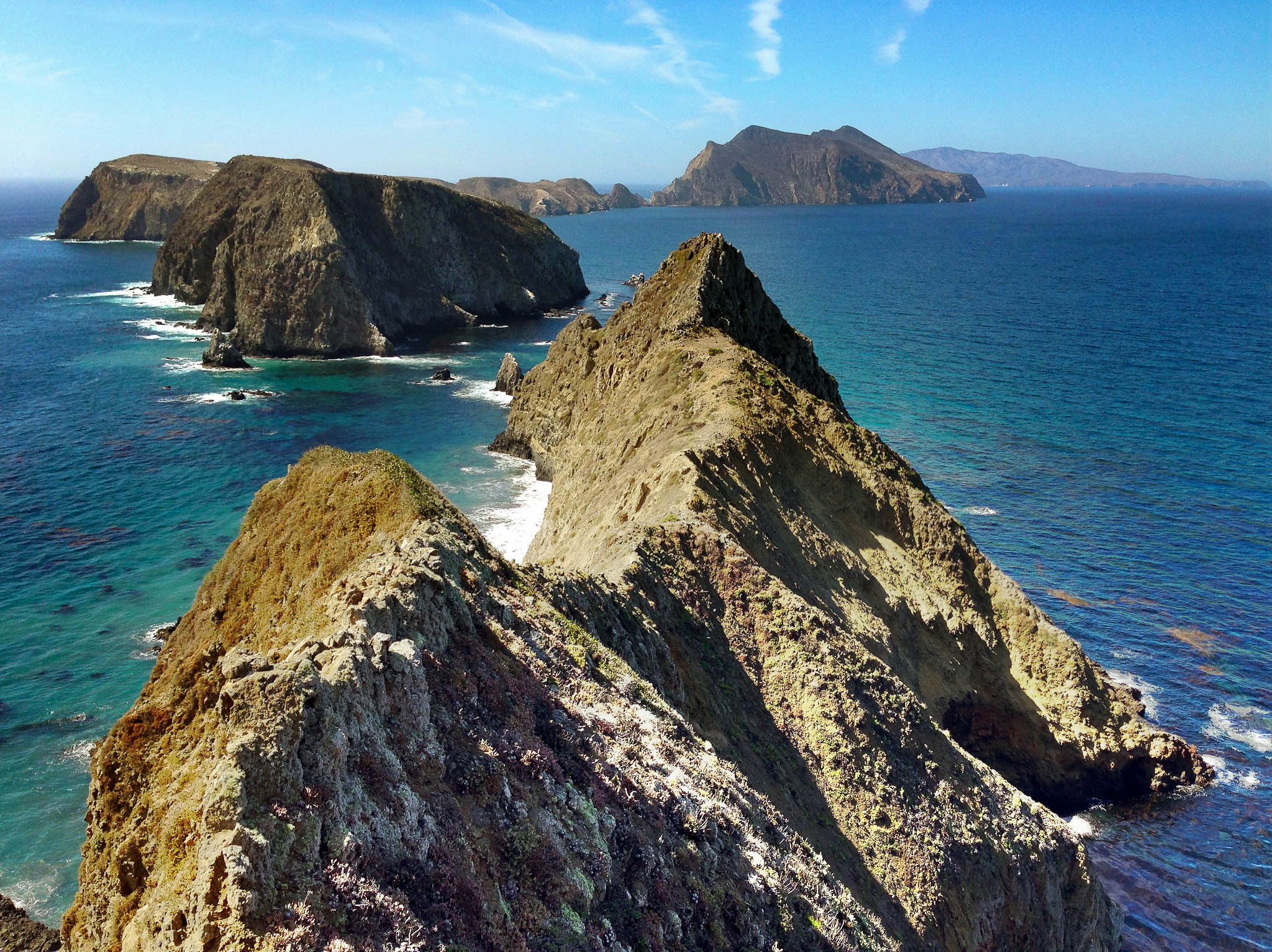 The view from Anacapa Island. Photo by CheWei Chang via  flickr .