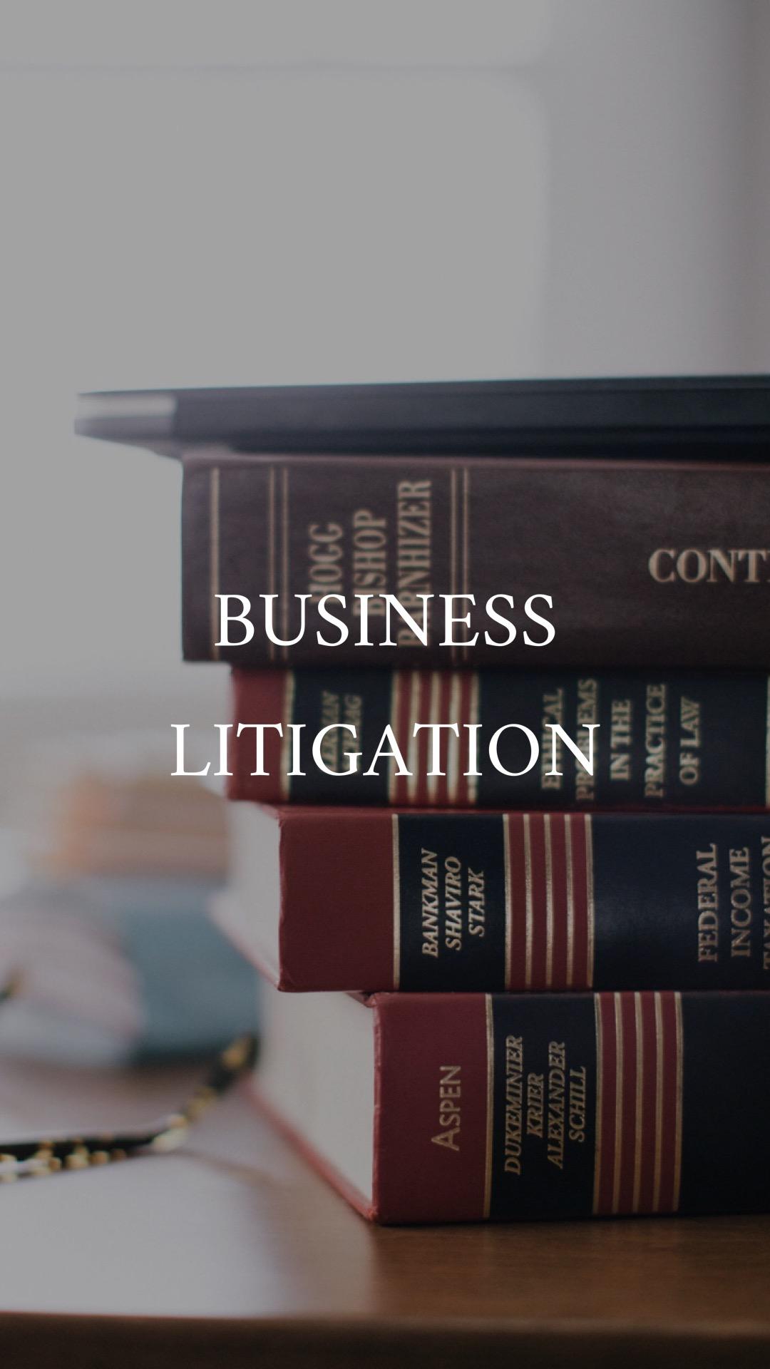 Reece Law Business Litigation