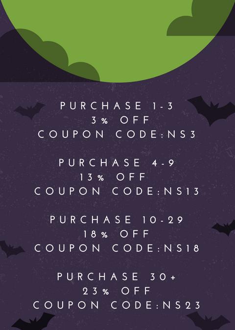 Violet Orange Spooky Night Halloween Sale Flyer.png