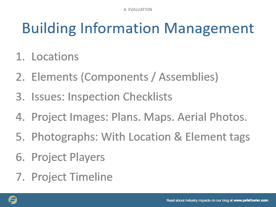 Building Information Management & Modeling — PFCS