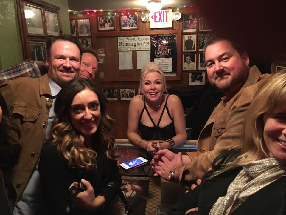The group got to meet and talk with Terri Nunn after the show for Trent's birthday. All smiles!