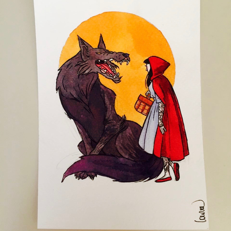 Little Tattooed Riding Hood by Laura Guglielmo