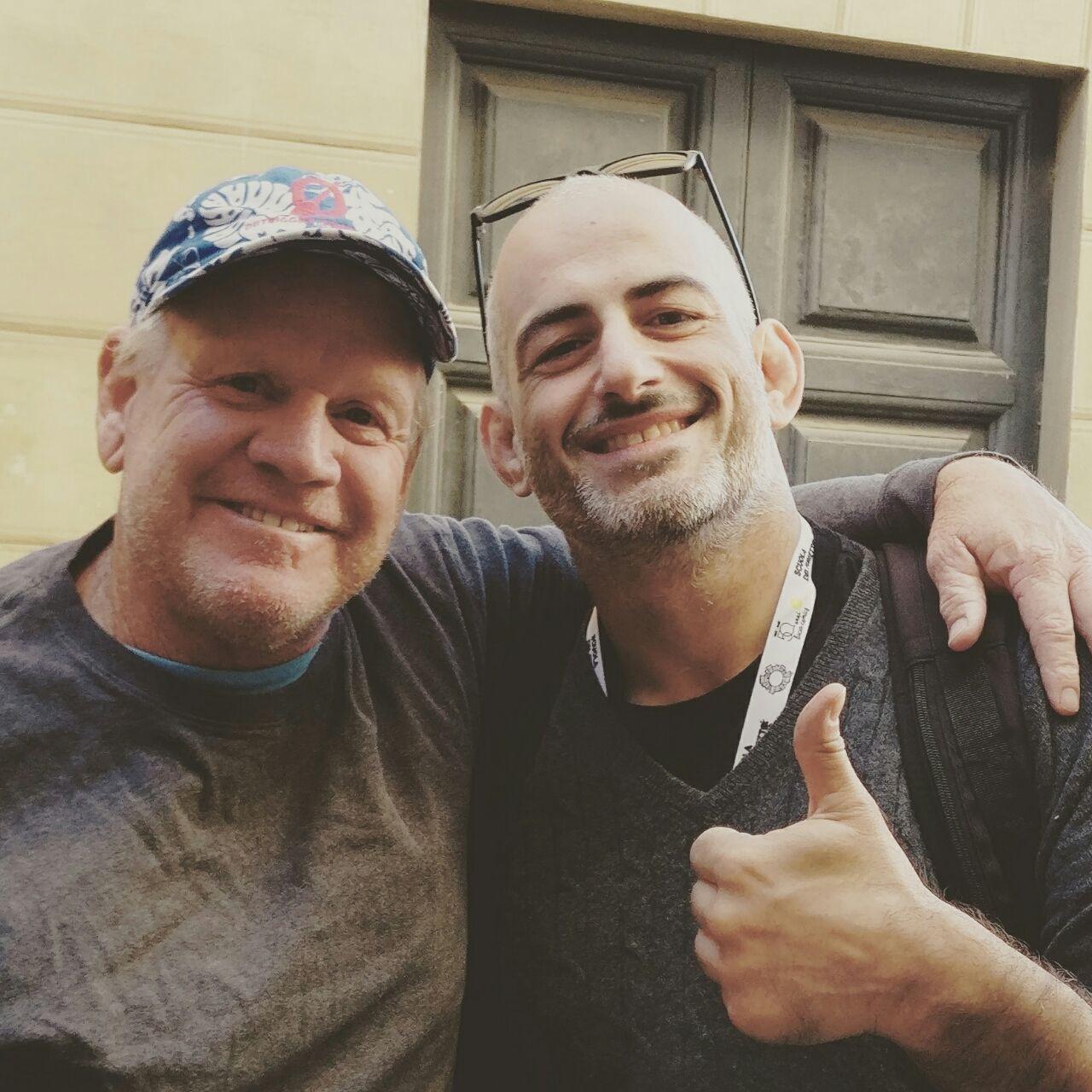 Bob con Emanuele Ercolani!