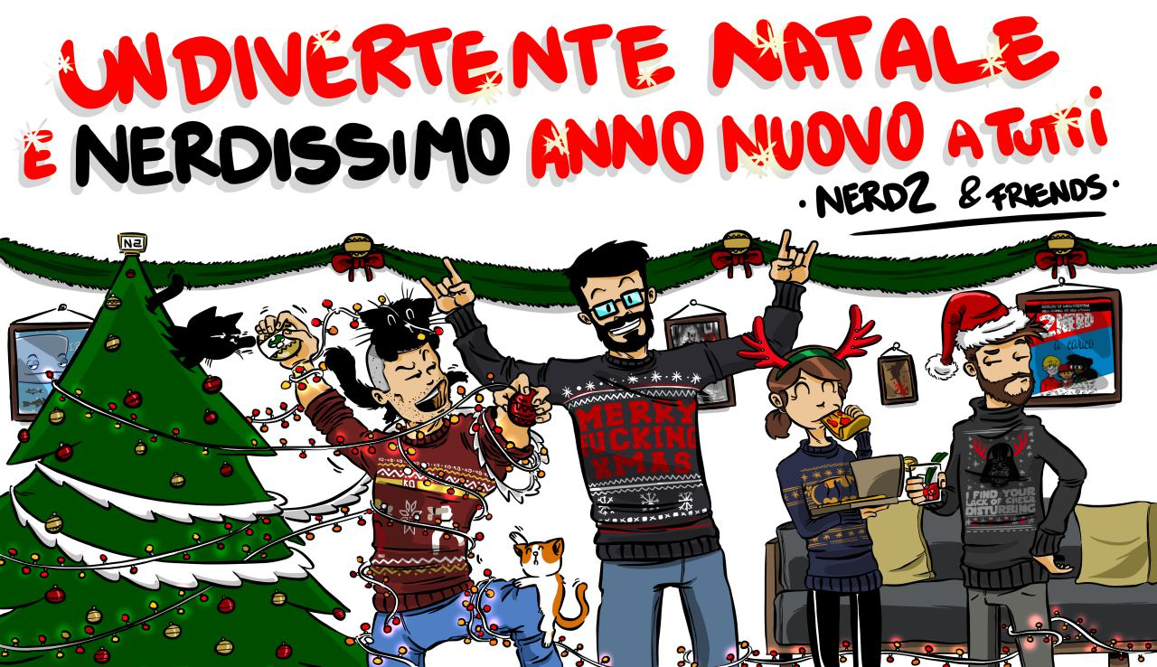 Nerdissimi Augurissimi da Emanuele Ercolani, Emanuele Bissattini, Cecilia del Corpo e Daniel de Filippis (il team nerd2!)