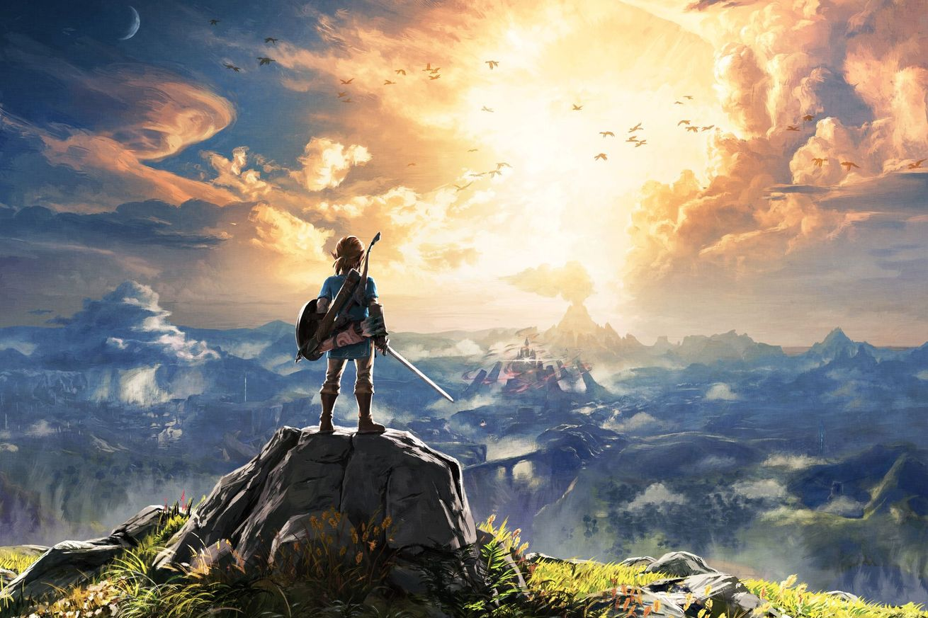 L'Immagine di presentazione del nuovo Zelda: Breath of the Wild