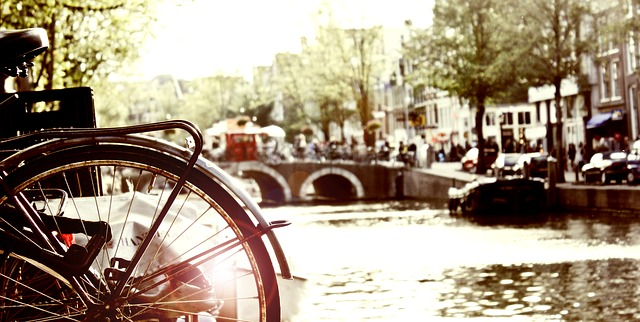 The lovely Amsterdam Unesco heritage canals.