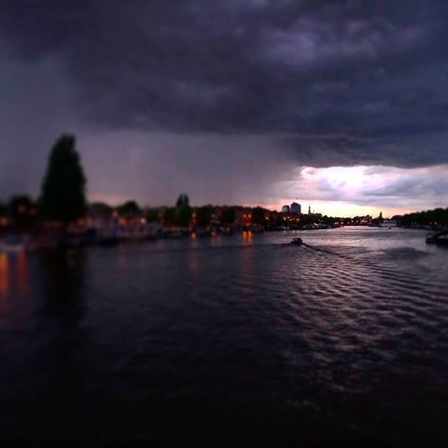 #amsterdam before the #thunder.