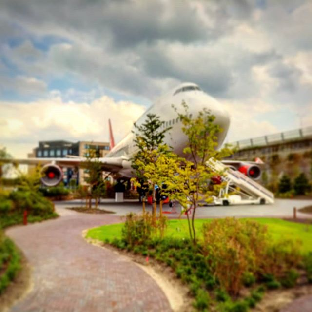 A wise man said: some people want a garden gnome in the garden, I got an Airplane in my garden! #corendonvillagehotel #boeing #747
