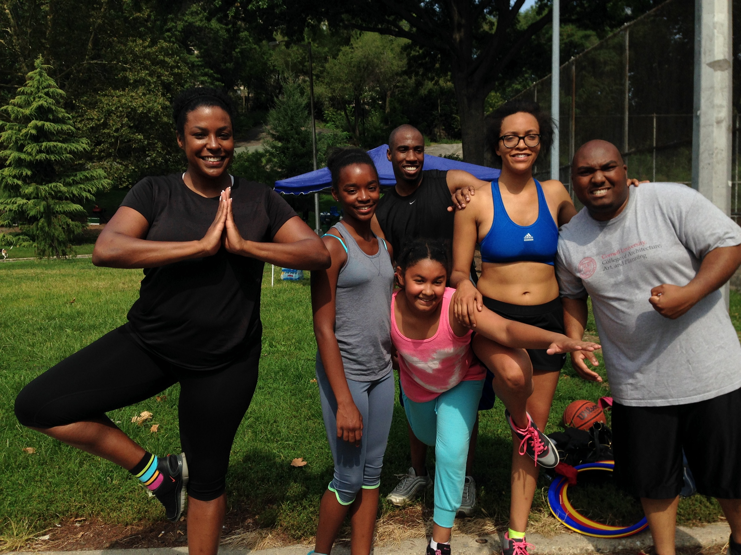 Outdoor SWEAT Class - Photography by Fire&Finesse