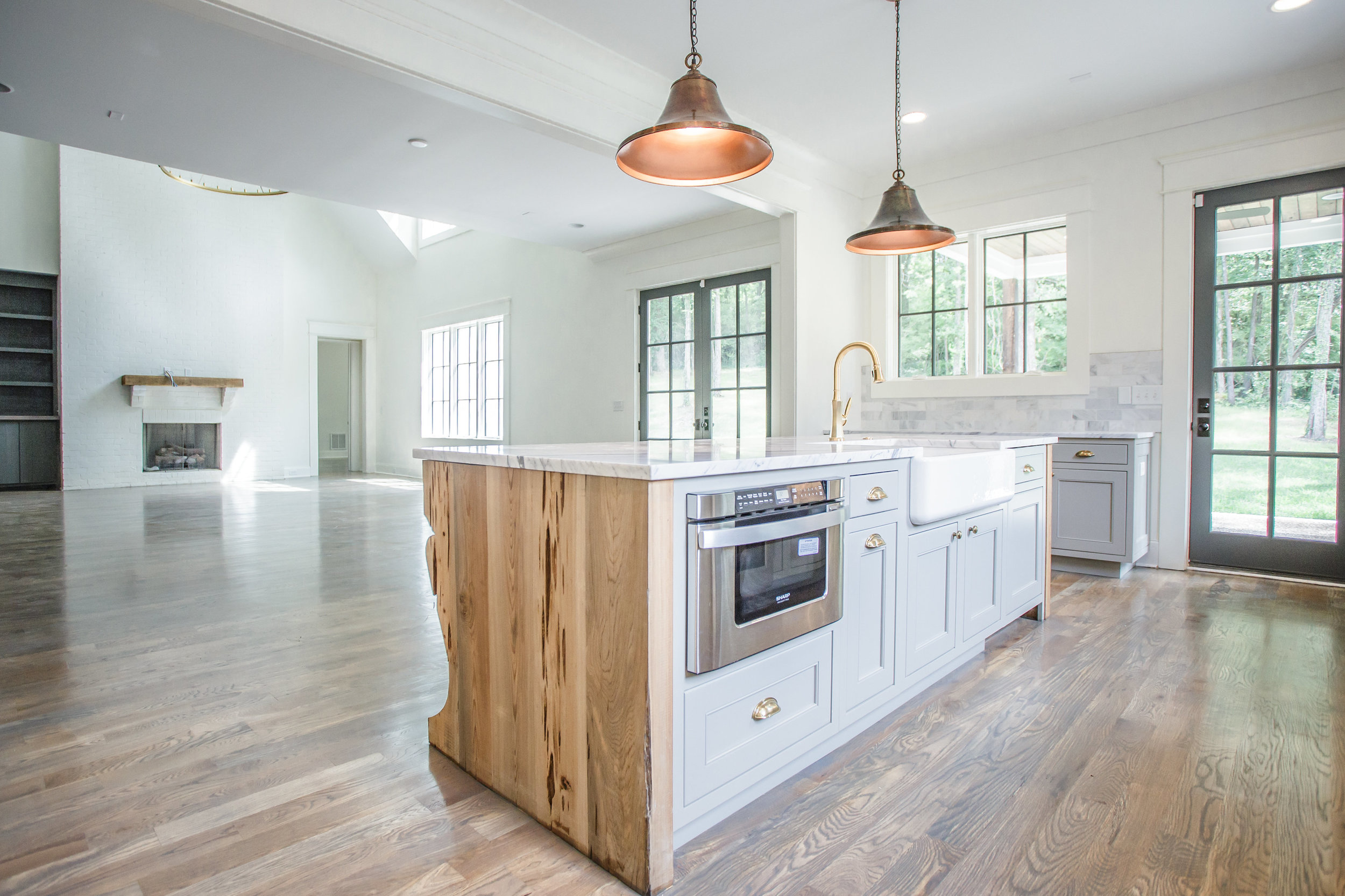 Complete Home Restoration - We take pride in preserving the past when the opportunity presents itself. These homes are renovated to the studs, and completely transformed while preserving various original architectural aspects to reflect the history of the property. Take a look through our galleries to see some examples.
