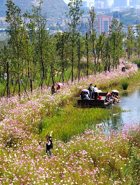 ASLA 2014 Professional General Design Honor Award. Slow Down: Liupanshui Minghu Wetland Park. Turenscape / Kongjian Yu