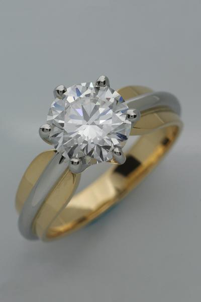 WEB-Weddings-Engagement-18k and Platinum-Round Diamond--6 Claw-2010-Image 3848.jpg