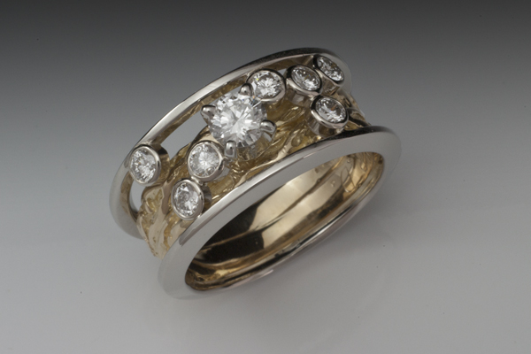 WEB-Ladies-18kw and y gold remake using customers bands and stones-2012-Image 6288.jpg