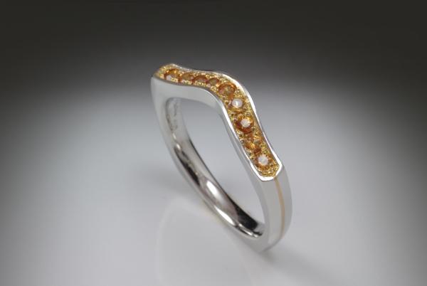 WEB-Wedding-Band-Platinum and 24K-Orange Sapphires-2012-6896.jpg