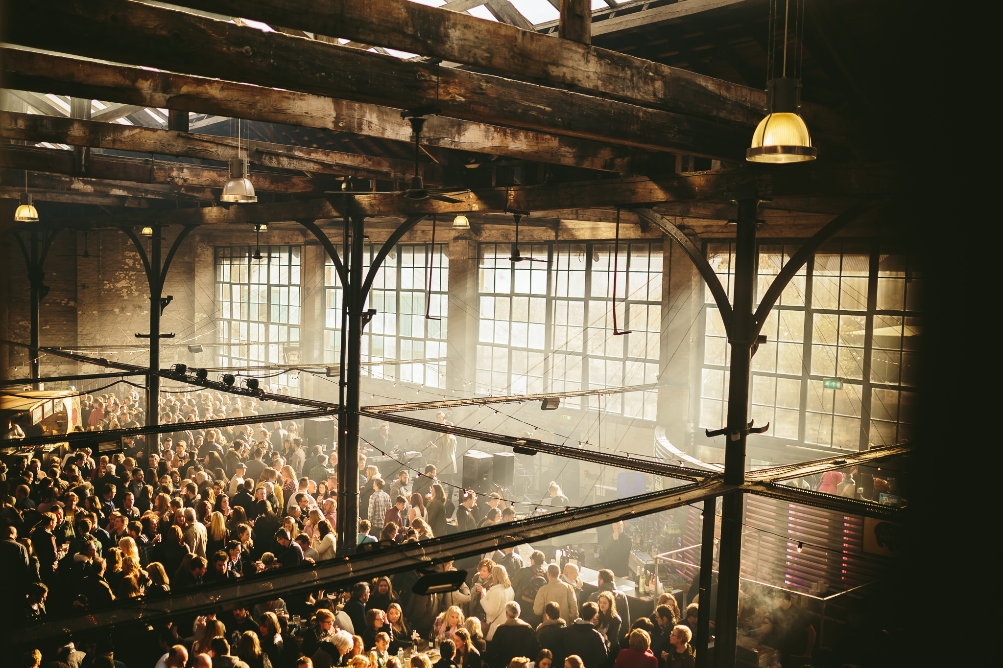 We also curate and produce street food, live music events and markets for venues, councils, private events and weddings. In 2013 we co-founded renowned music and street food event The Boiler Shop Steamer.