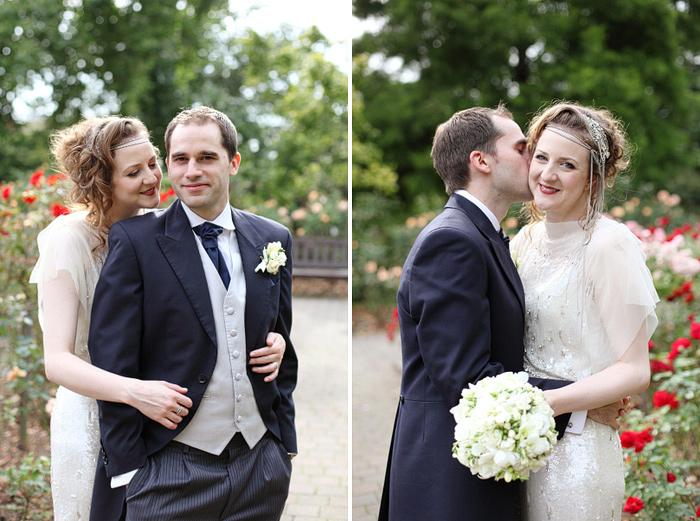 The Orangery Holland Park London wedding