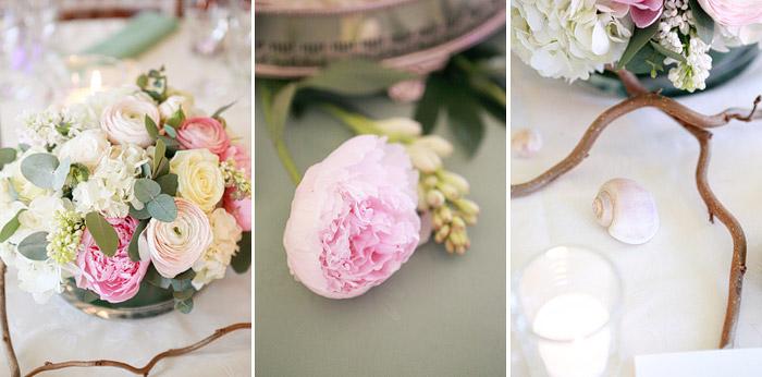 spring wedding details