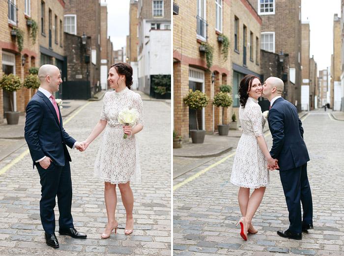 Dasha Caffrey London wedding photographer
