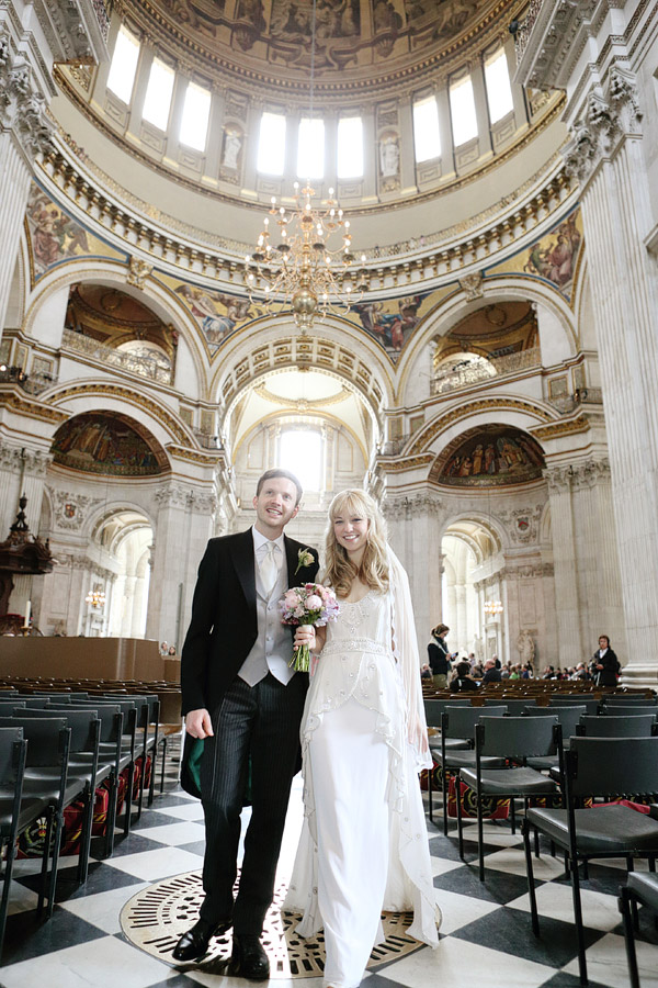 wedding in St.Paul's Cathedral