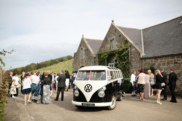 wedding campervan Scotland