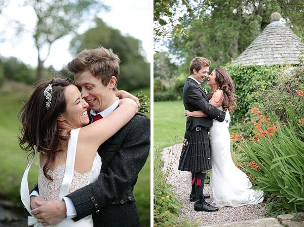 Wedding photos Scottish wedding