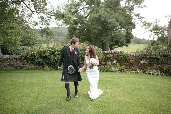 Aswanley wedding Scotland