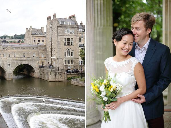 Bath city wedding