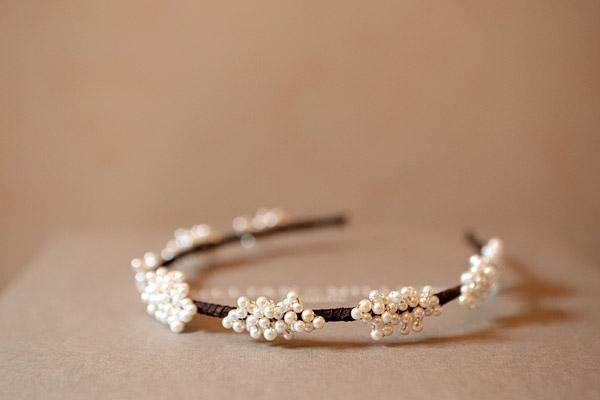 Gillian Million wedding headpiece
