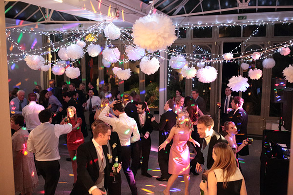Hampton Court House wedding party
