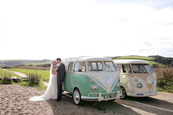 wedding vintage campervan