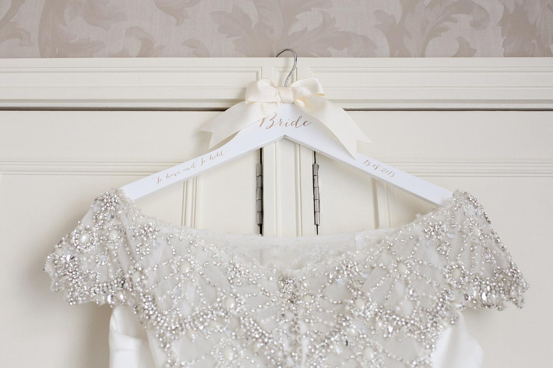 Just Alexander embellished wedding dress