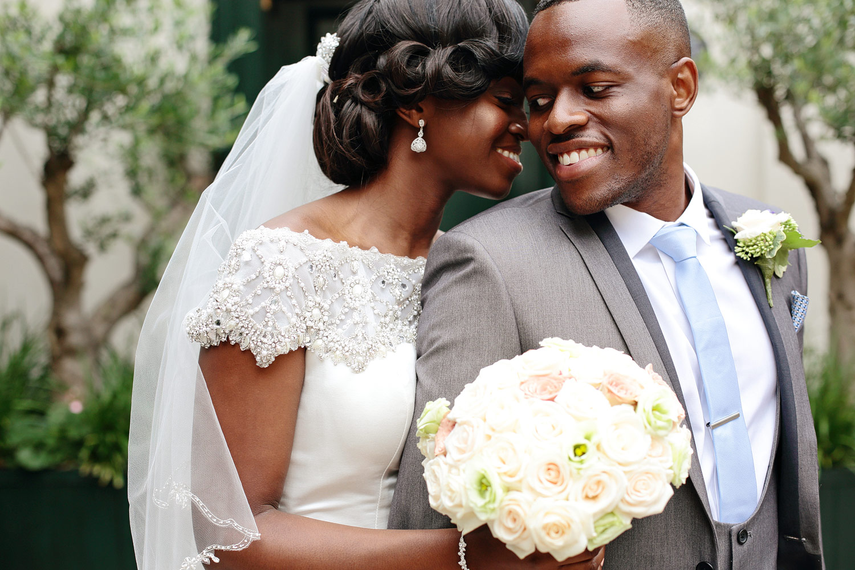 The Berkeley Hotel luxury African wedding in London