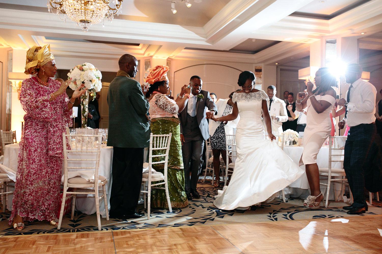 Nigerian wedding in London