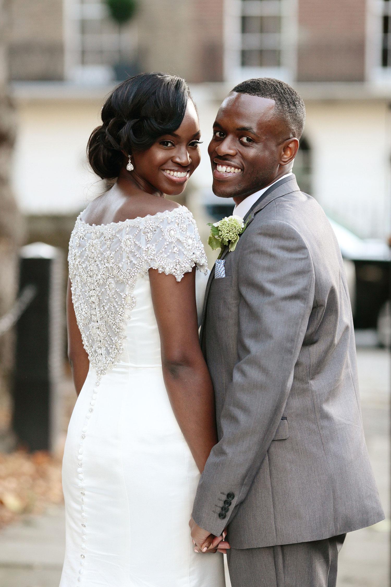 Nigerian wedding by London photographer