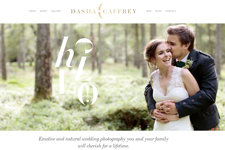 wedding photographer in Ireland Dasha Caffrey
